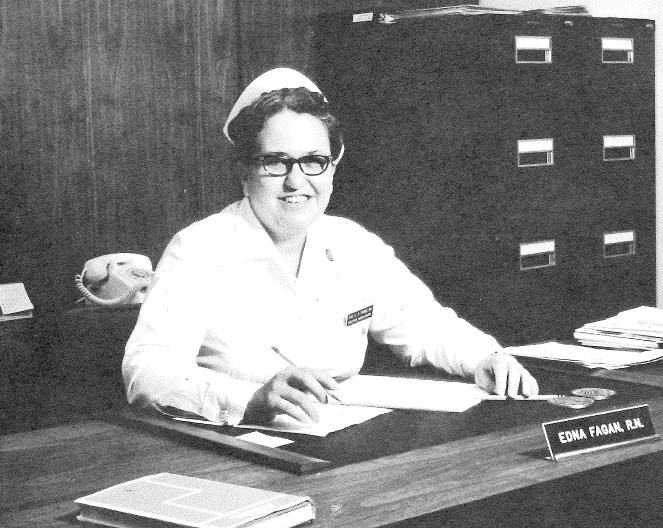 Methodist Memories: Miss Edna Fagan, MA, RN | Methodist