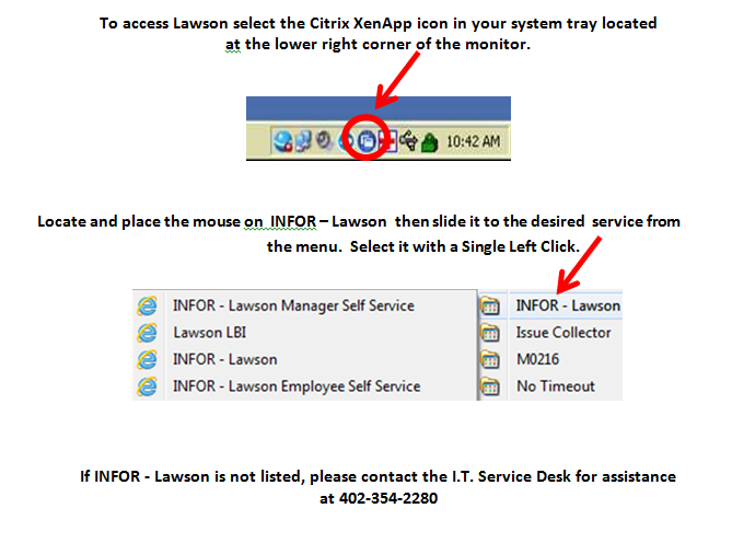 Reminder: How to Access Lawson & Employee Self Service   Methodist